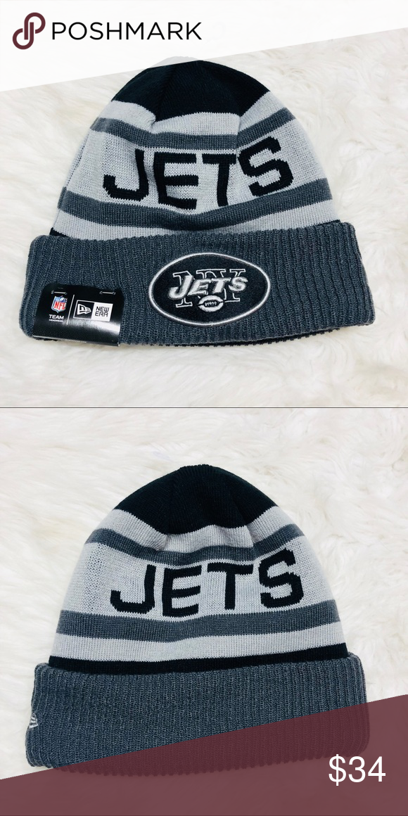 1419a9af9bdccc New era New York jets beanie Brand new with tags New Era Accessories Hats