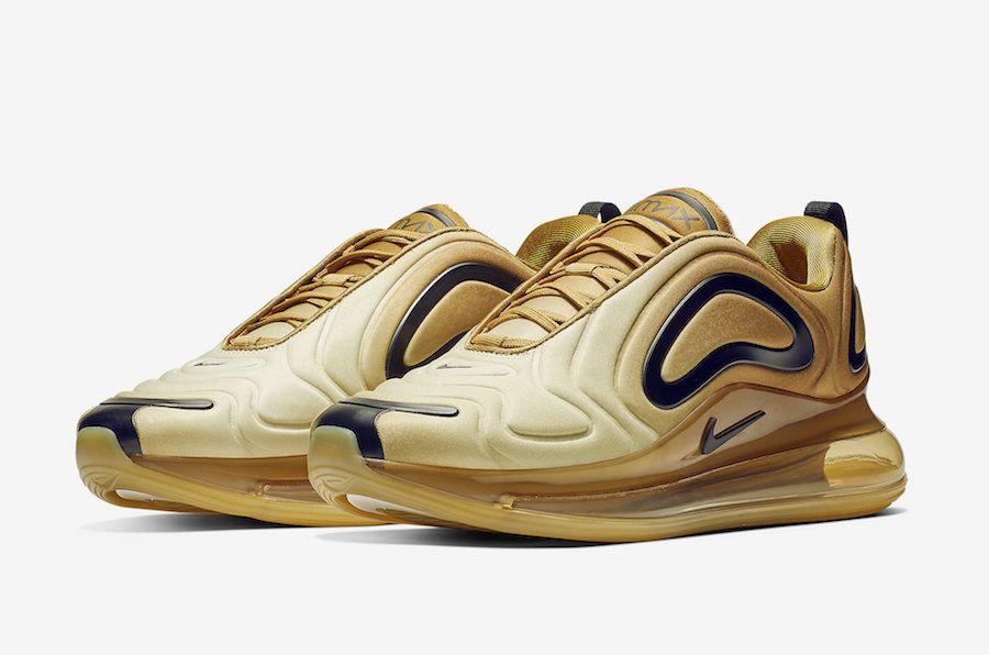 """e5b50e48774e4 Oto nowe Nike Air Max 720 w wersji """"Gold"""""""