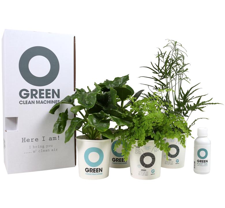 Speel in op de groene vitale trend en geef je medewerkers of relaties een Ogreen Clean Machine cadeau.