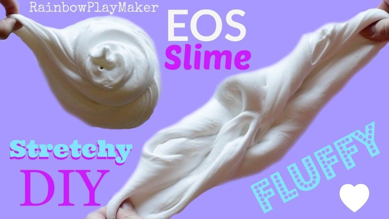 how to make fluffy slime youtube