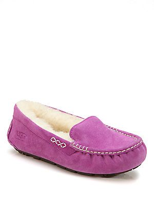 Suede UGGpure Moccasin Slippers