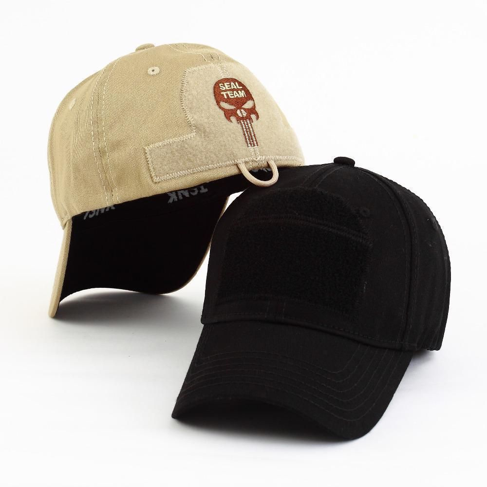 4e9a89d5a1b3c SEAL TEAM Military Punisher Tactical Baseball Cap Snapback Stretchable Men  Hat  TSNK  BaseballCap
