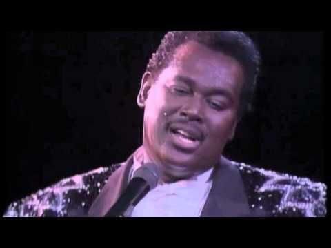 Luther Vandross A House Is Not A Home Live 1988 Luther Vandross Luther House
