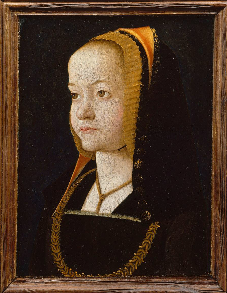 Jean Perréal Portrait of a Woman late 15th century Oil on wood