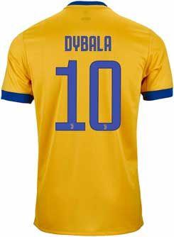 2325af7b7 adidas Kids Paulo Dybala Juventus Away Jersey 2017-18