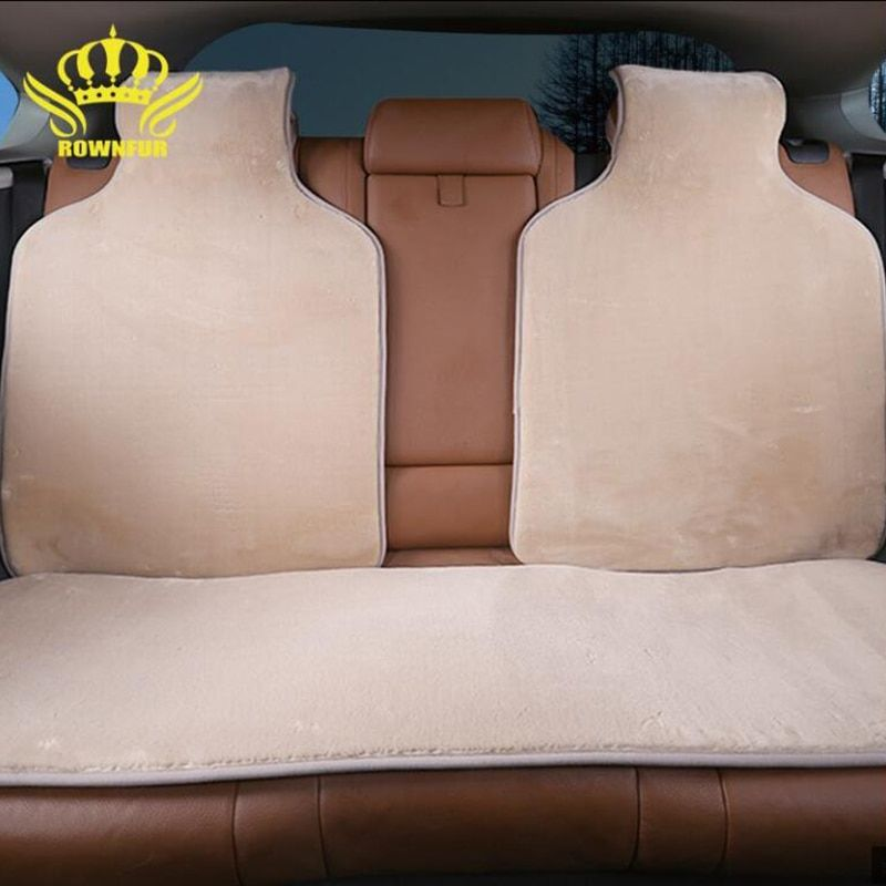 Faux Fur Car Seat Covers Artificial Capes For Rear 5 Colors Soft Winter