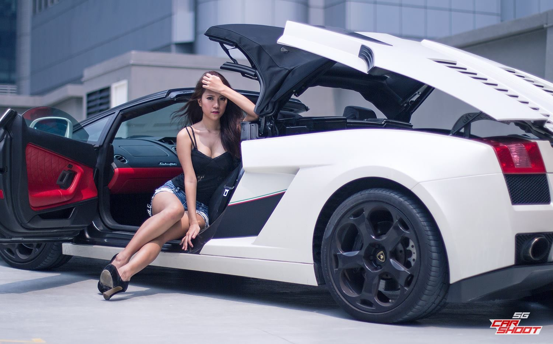 Vanessa And Lamborghini Gallardo Spyder   16 Photos   GTspirit