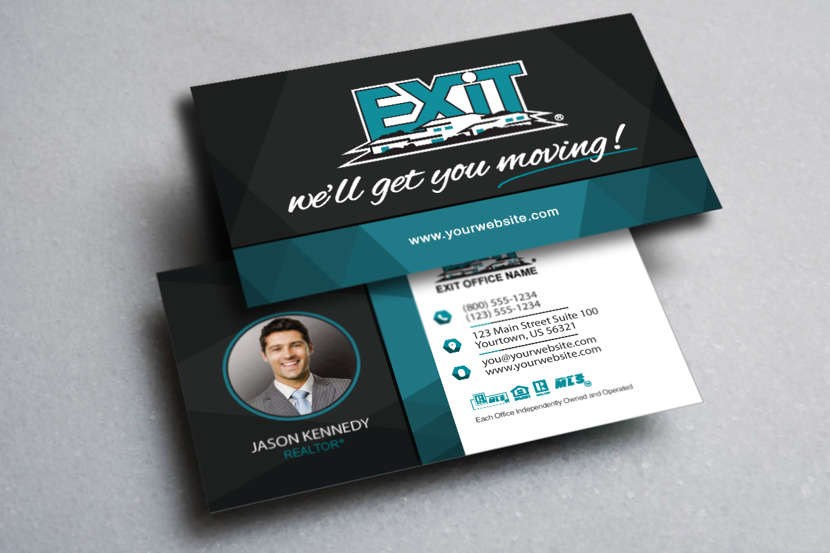 Exit Realtors We Ve Got Your Newest Business Card Realtor Exitrealty Realestate Realtors Realty Realtorlife Exit Realty Business Cards Online Realty
