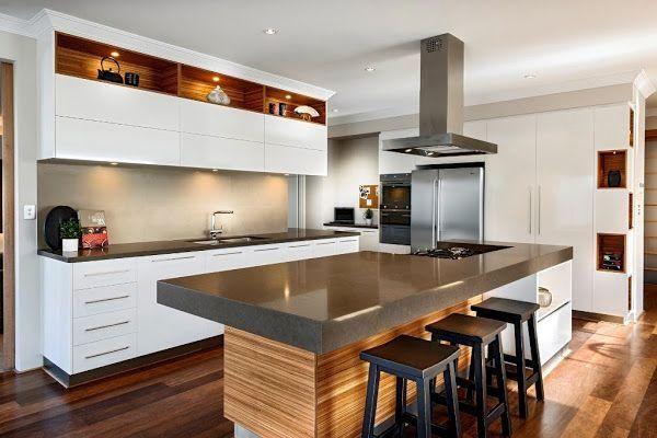 Más de 1000 ideas sobre cocinas rústicas modernas en pinterest ...