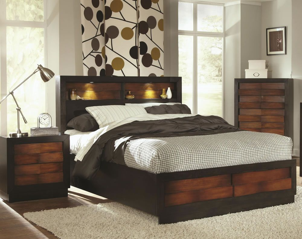 Solid wood bedroom creative ideas Headboards for beds