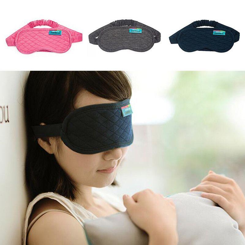 Travel Sleeping Eye Mask Cotton Sleep Mask Blindfold Antifaz Para Dormir Sleeping Mask Eyepatch Sleep Eye Mask