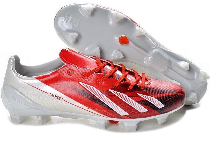 san francisco 0bf8f 2b48f Adidas F50 Adizero TRX FG Leather Firm Ground Mens Soccer Cleats(Silver  Energy Black)