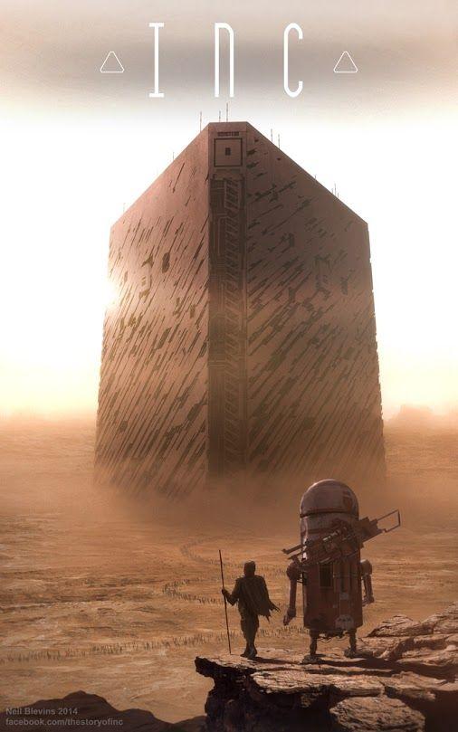 Paysages De Sf Paysage Science Fiction Art