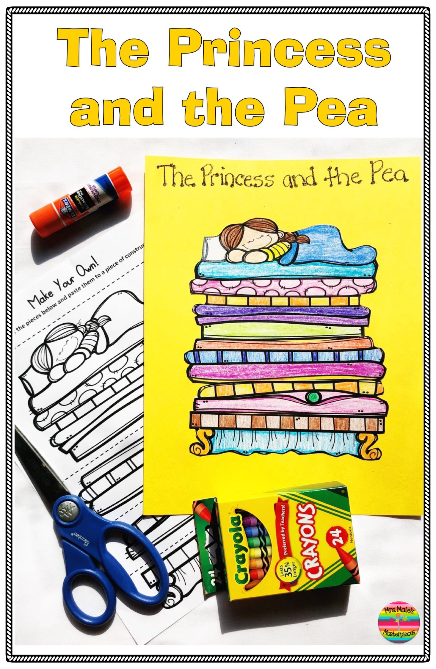 The Princess And The Pea Activities And Comprehension
