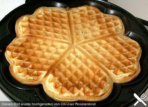 Weltbeste Buttermilchwaffeln   cacepop   Sweet cooking ...