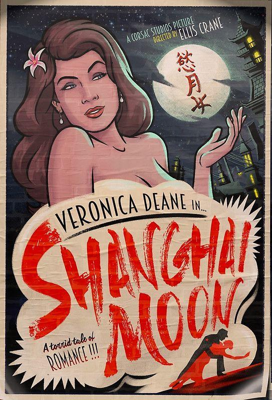 Shanghai Noon Veronica Deane : shanghai, veronica, deane, Shanghai, Designs