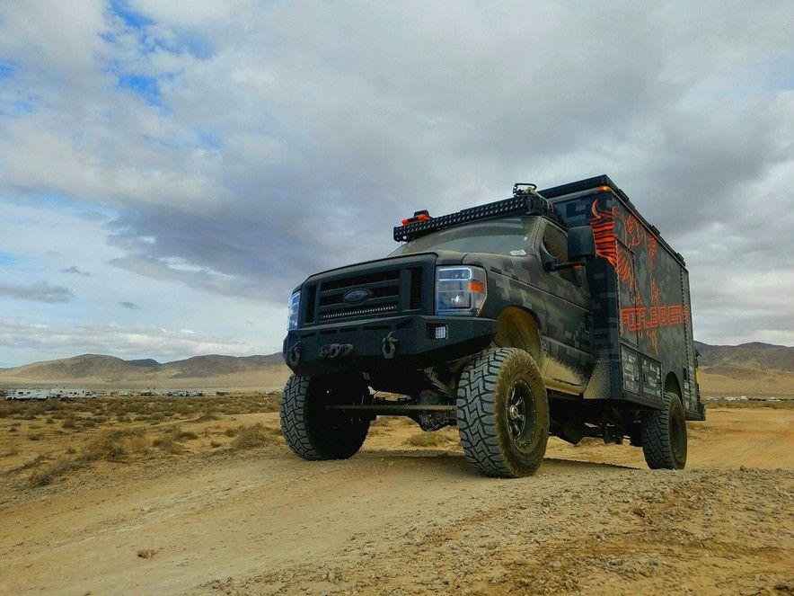Focal Engineering | Ambulance conversion | 4x4 camper van