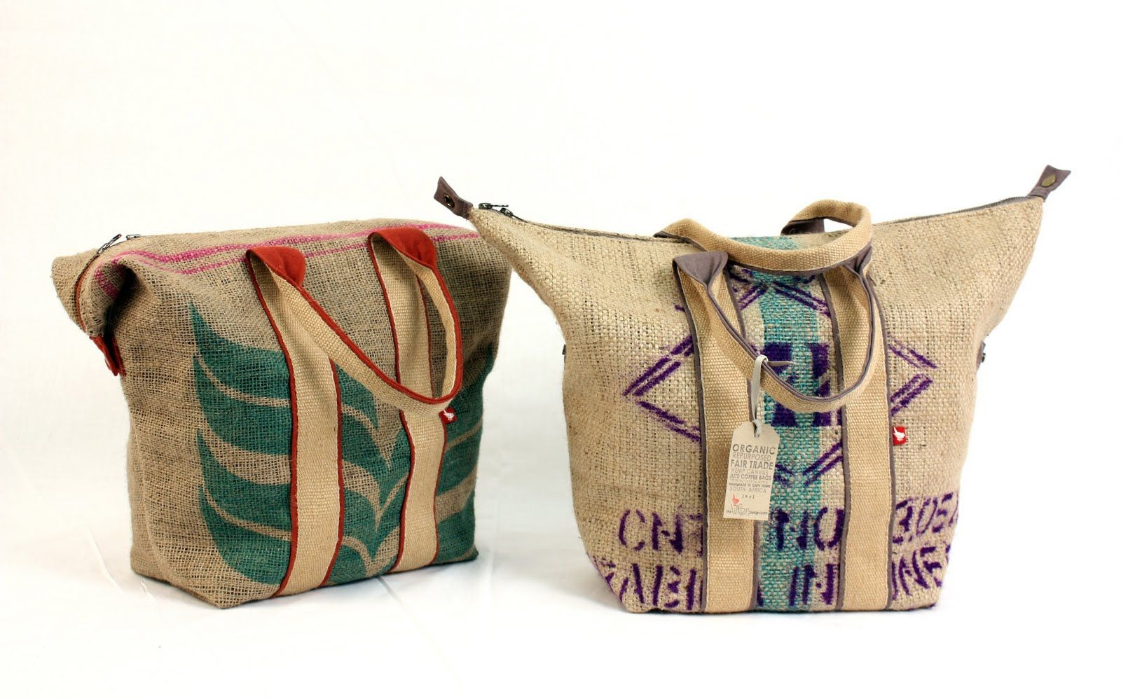 Awesome south african organic designer bags made from