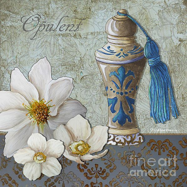 Elegant Bathroom Paper Towel Holder: Elegant Decorative Bath Bathroom Art Flower Perfume Bottle