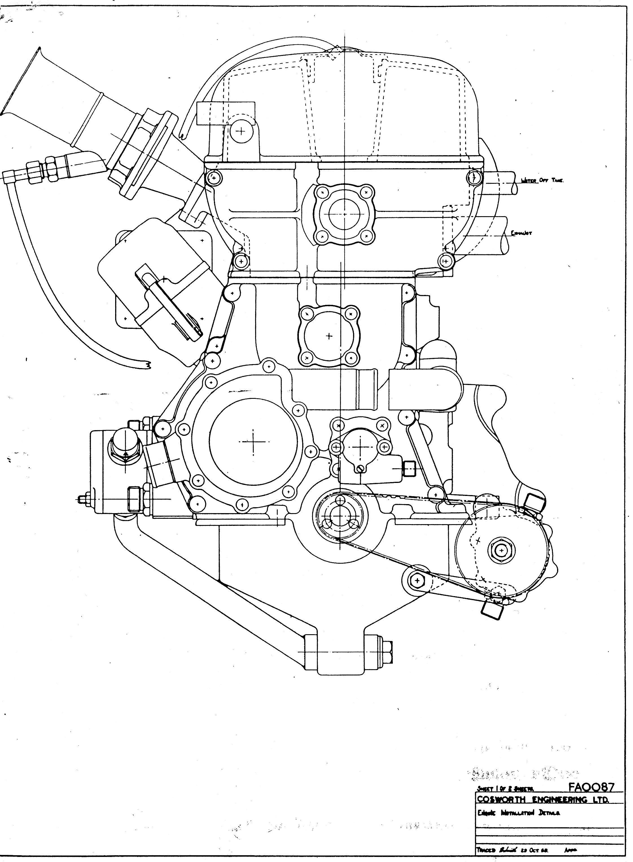 Fvc engine drawing