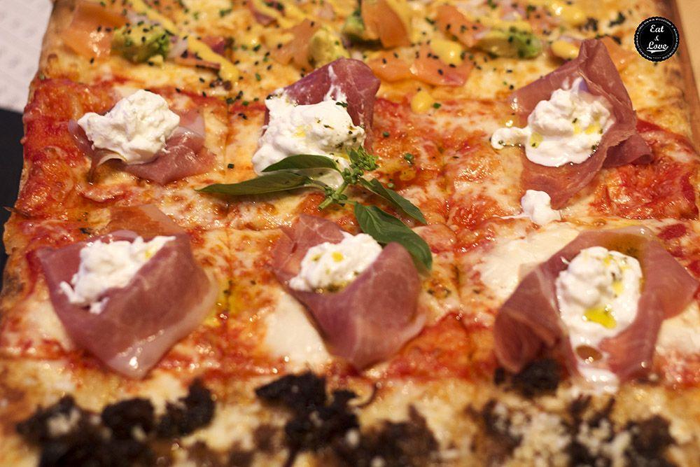 Pizza San Danielle Kilómetros de Pizza Madrid