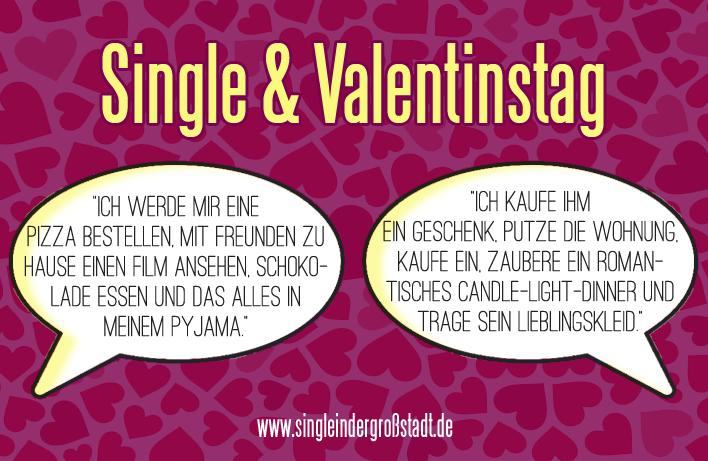 Valentinstag fur singles lustig