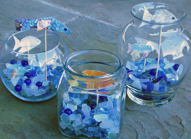 Photos Of Fish Centerpieces Fish Quot To Keep With A
