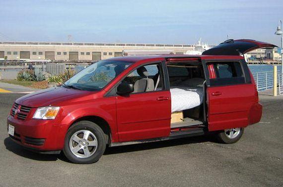 Dodge Grand Caravan Minivan Camper Mini Van Grand Caravan