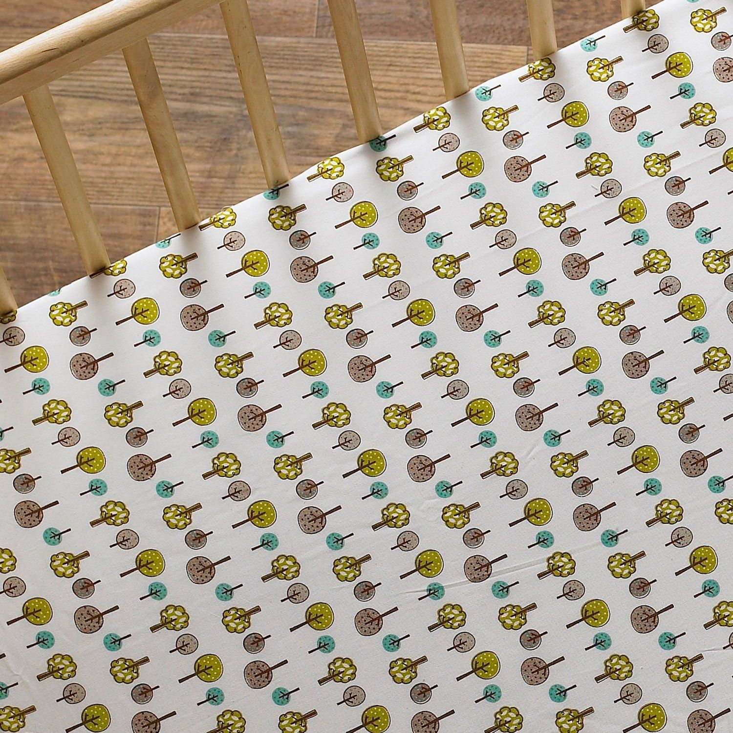 Margherita Missoni Dot Crib Fitted Sheet: Amazon.com : Lolli Living Animal Tree Fitted Sheet, Tree