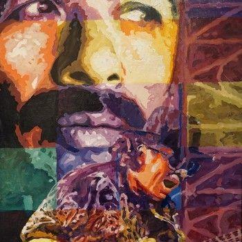 Jerry Blank - #Santana - Original Acrylic on Canvas 24 x 30 http://gma-lv.com/jerry-blank