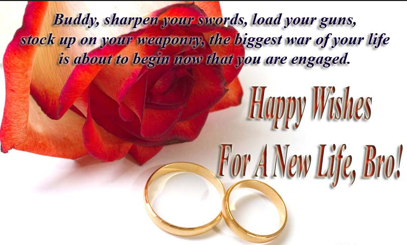 Engagement Wishes For Brother (Engagement Message For