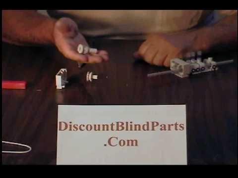 John Sitko Replace Blind Parts Vertical Track Repair Hunter Douglas Levolor Graber Laserl Vertical Blinds Modern Vertical Blinds Vertical Blinds Makeover