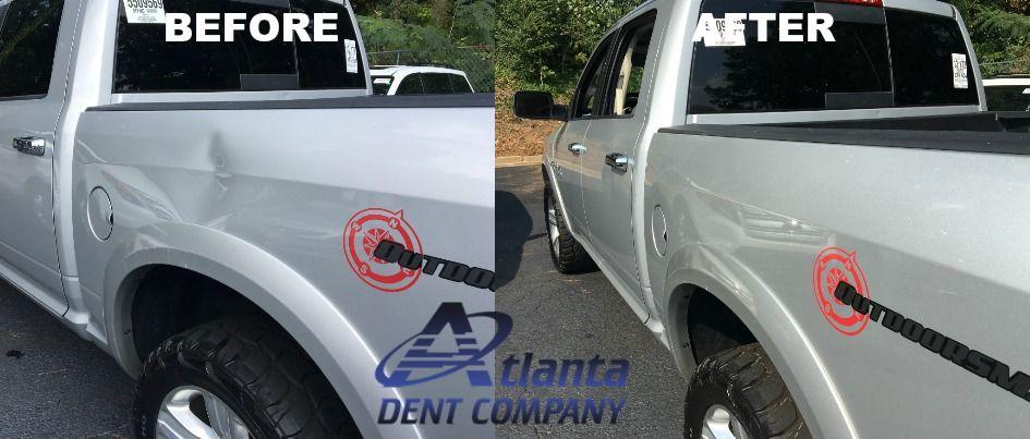 Dodge Ram Dent Removed!