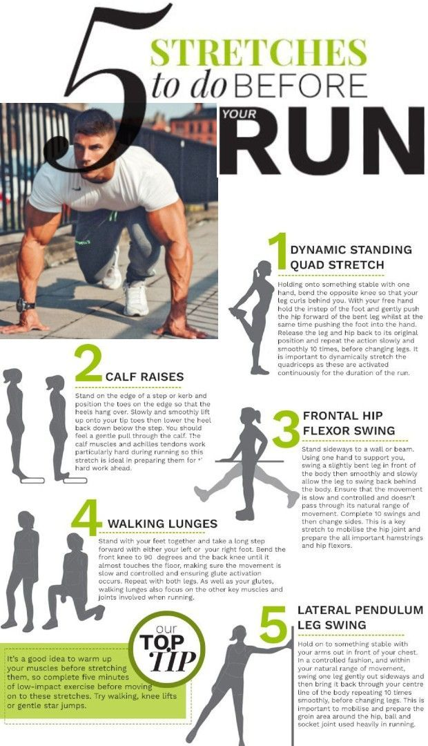 Best Stretches to Do Before Running