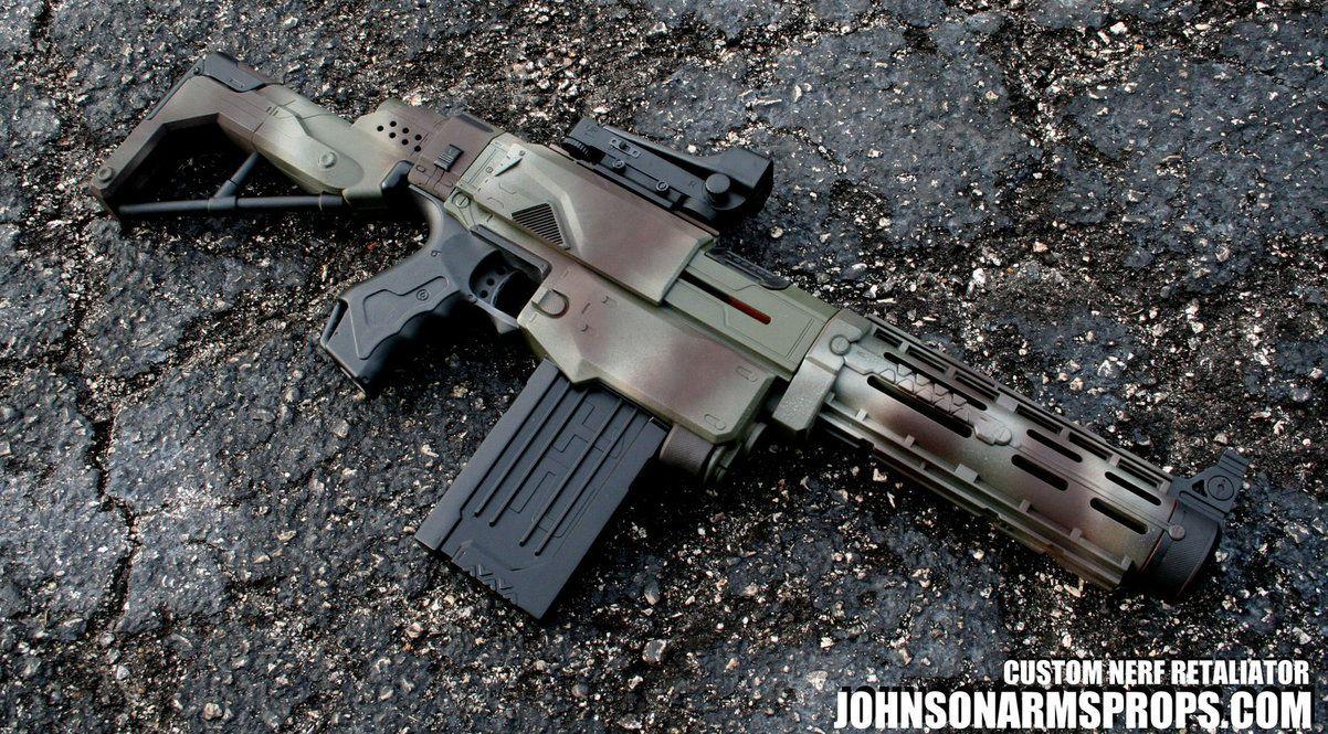 Custom Nerf Longshot - Desert Camo by TheDamnedScribe ...