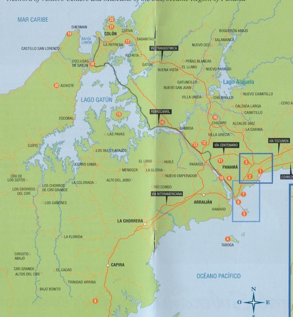 Map of the panama canal and surrounding areas dont just visit map of the panama canal and surrounding areas dont just visit the panama gumiabroncs Images
