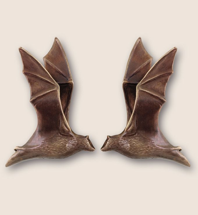 Martin Pierce Hardware - Animal: custom cabinet knobs :: Bat pulls ...