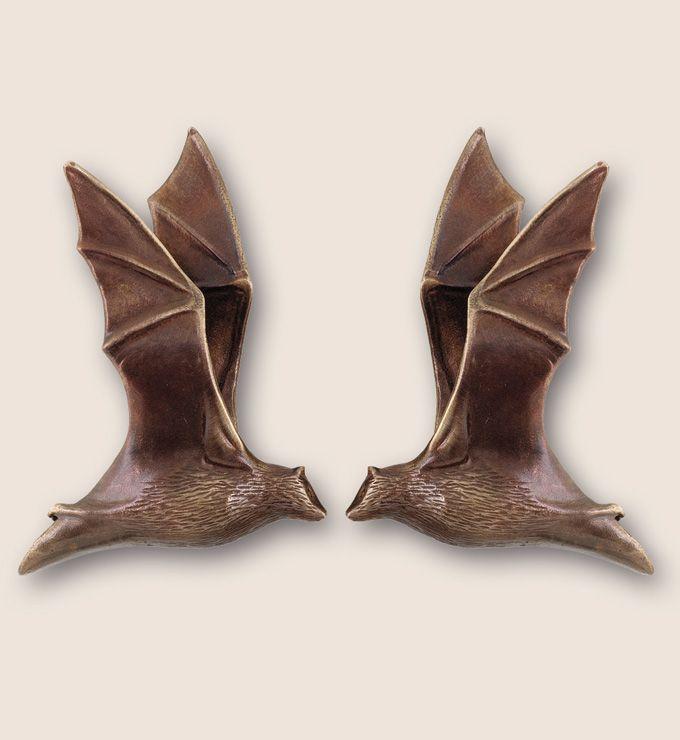 Martin Pierce Hardware   Animal: Custom Cabinet Knobs :: Bat Pulls