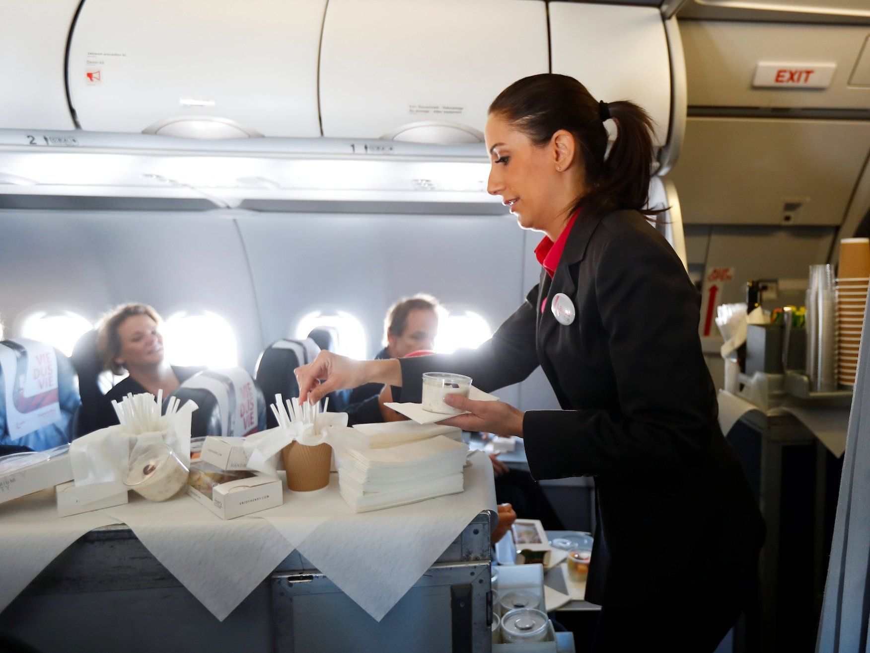 Here's how much flight attendants in 10 airlines say they
