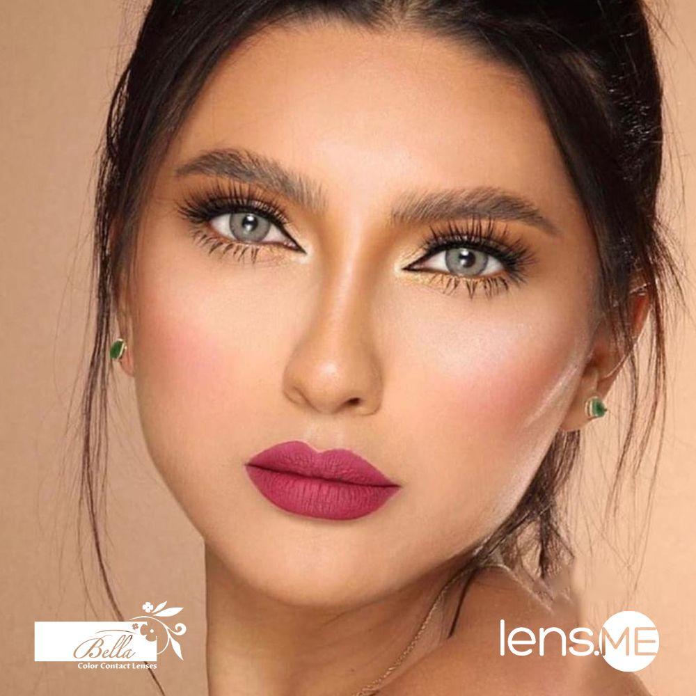 Bella Elite Emerald Green 2 Lenses Brunette Makeup Makeup Forever Contact Lenses Colored