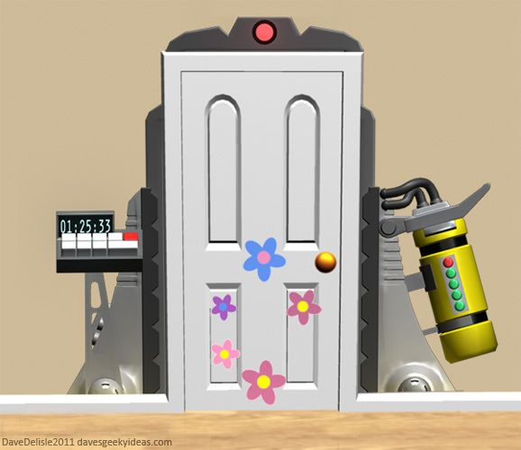 Dave S Geeky Ideas Monsters Inc Bedroom Monsters Inc Room Monsters Inc Doors