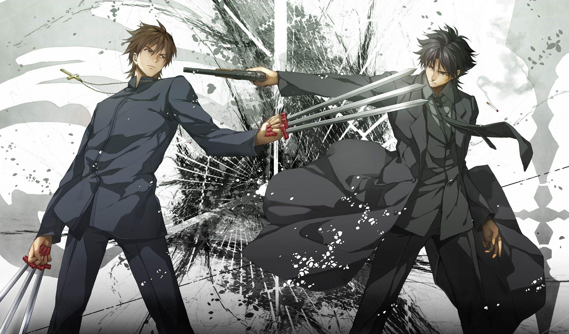 Kotomine Kirei Vs Emiya Kiritsugu From Fate Zero One Of The