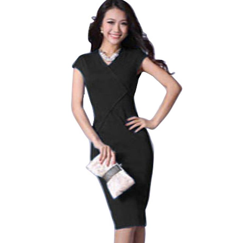 af6997ee72ed4 Aamikast Women dresses New Fashion Ladies Elegant Splicing Stripe ...