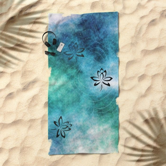 15% Off + Free Shipping on This Item Today!   Pattern 2017 008 Beach Towel by Christine Baessler. Worldwide shipping available at Society6.com. Just one of millions of high quality products available.