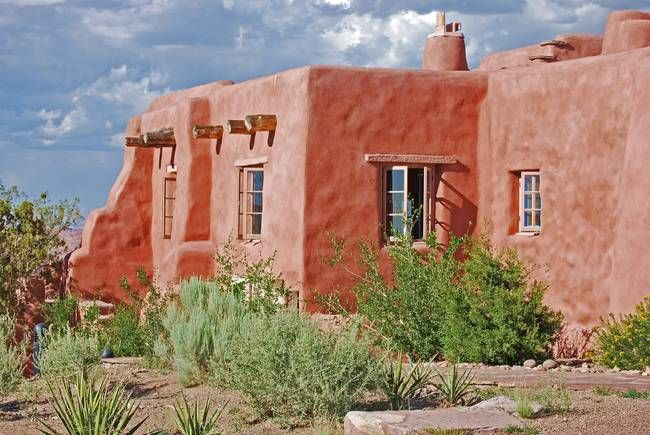 Clay Adobe House By Lisa Woodburn Adobe House Desert Pictures Southwest House