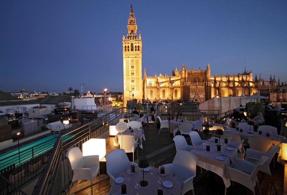 Eme Catedral Hotel Seville Spain Overlooking