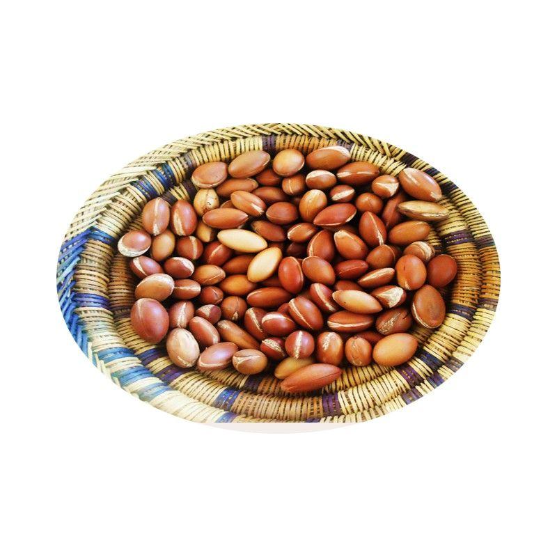 Notre huile d'argan provenant des amandons des arganiers de la région d'Agadir.