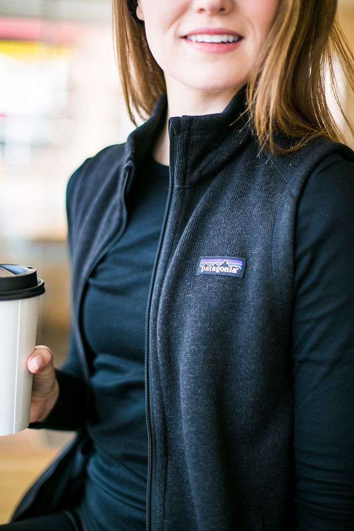 Coffee In Denver Fashion Patagonia Better Sweater Vest