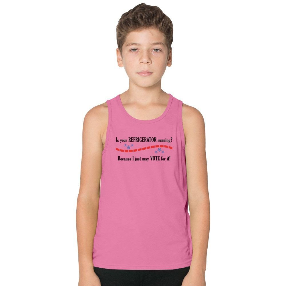Is Your Refrigerator Running Kids Tank Top