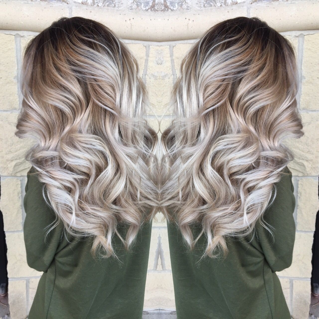 Bayalage Icy Blonde Perfect Natural Color Blonde Hair